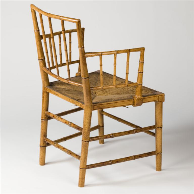 Faux Bamboo Painted Antique Chairs And Furniture Exceptional Antiques Beautiful Things